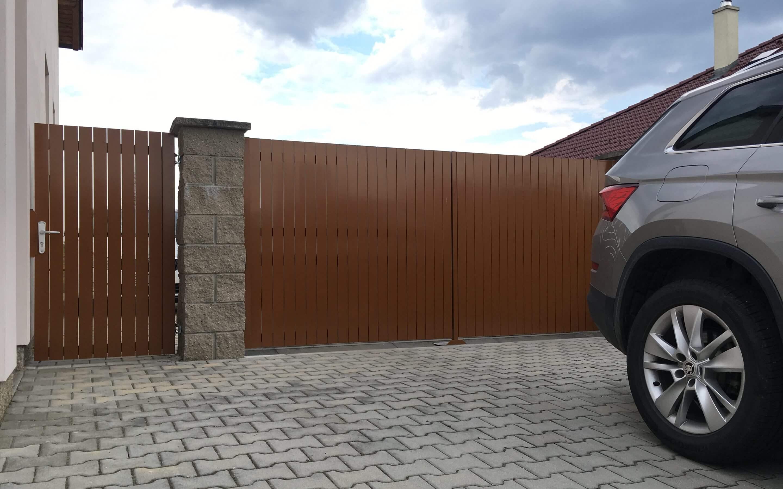 brána jvp system hliníková křídlová