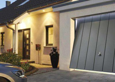 garážová výklopná vrata hormann hörmann