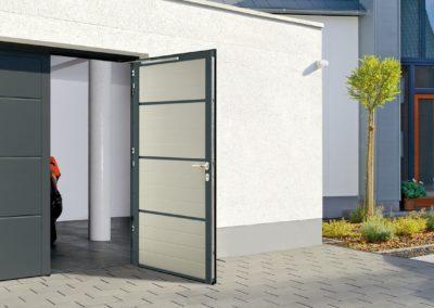 dvoukřídlá garážová vrata NT80 hormann hörmann