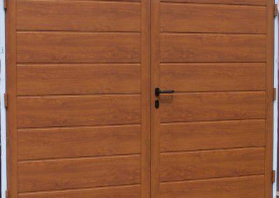 Vrata dvoukřídlá privátní s dřevěnou výplní