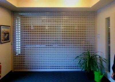 Mříž rolovací hliníková