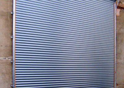 Vrata rolovací Hörmann průmyslová na fasádě 02