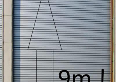 Vrata rolovací Hörmann průmyslová hliníková