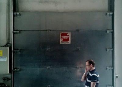 Vrata sekční protipožární (2)