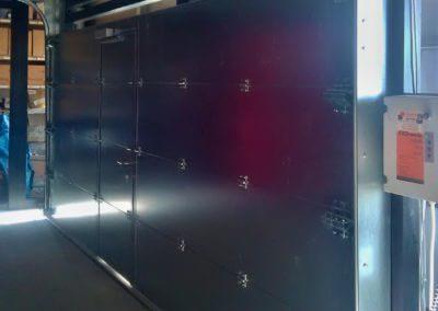 Vrata sekční protipožární