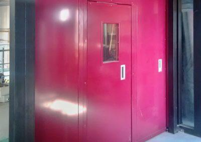 Vrata stranově odsuvná protipožární