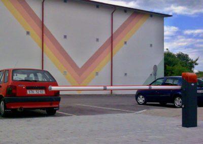 závora vjezdová parkovací solární