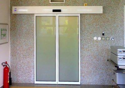 Dveře automatické lineární centrální hliníkové (8)