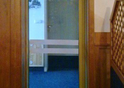 Dveře automatické lineární jednokřídlé protipožární (2)