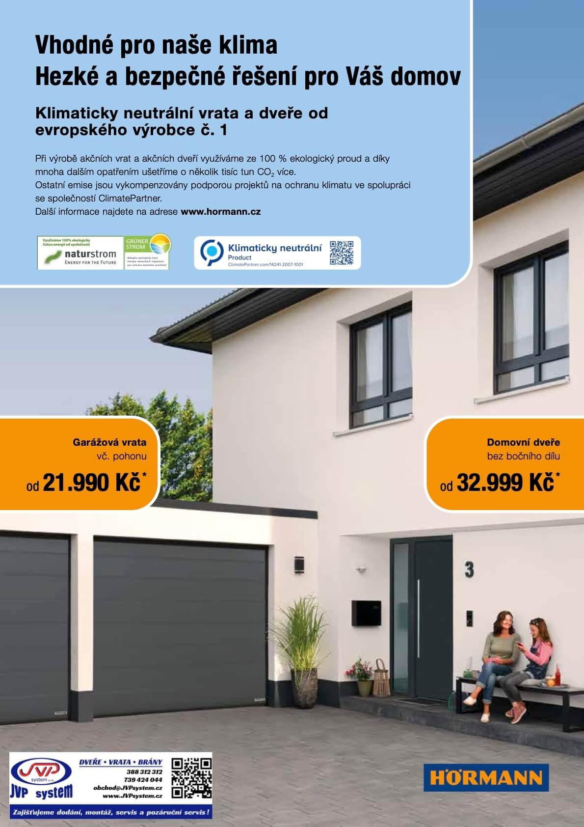 sekční garážová vrata hormann renomatic 2021